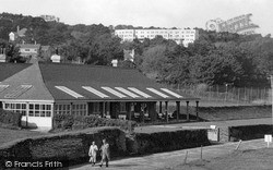 The Gold House And Thurlestone Hotel c.1955, Thurlestone