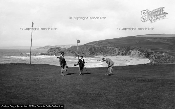 Photo of Thurlestone, The Links 1924