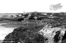 View From Links Hotel c.1939, Thurlestone