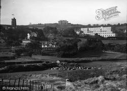 Village From Golf Course c.1950, Thurlestone