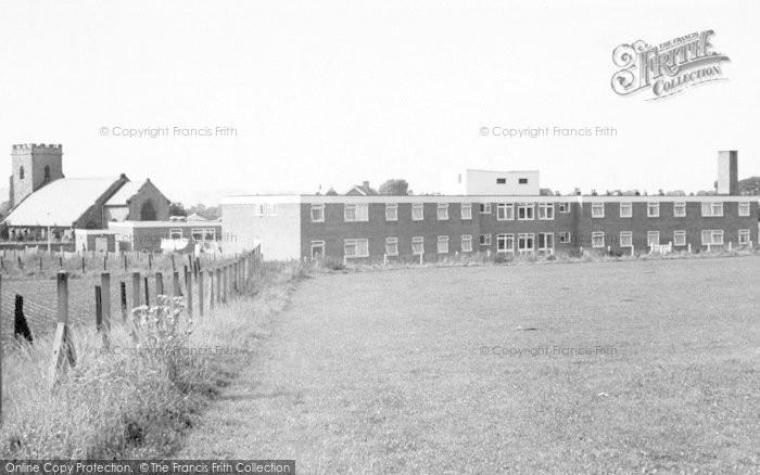 Photo of Thurmaston, Hadrian House c.1965