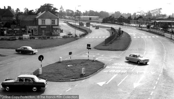 Thurmaston, the By-Pass c1965