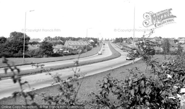 Thurmaston, the Newark Road c1965