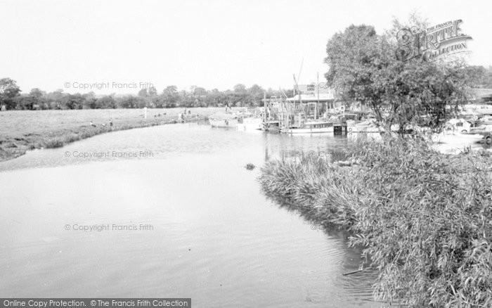 Photo of Thurmaston, The River Soar c.1965
