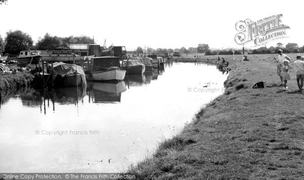 Thurmaston, the River c1965
