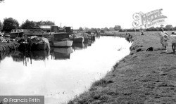 Thurmaston, The River Soar c.1965