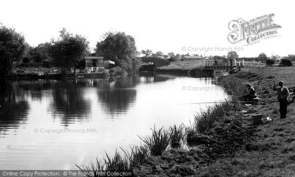 Photo of Thurmaston, The River Soar c.1965