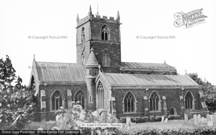 Photo of Thurnby, St Luke's Church c.1960