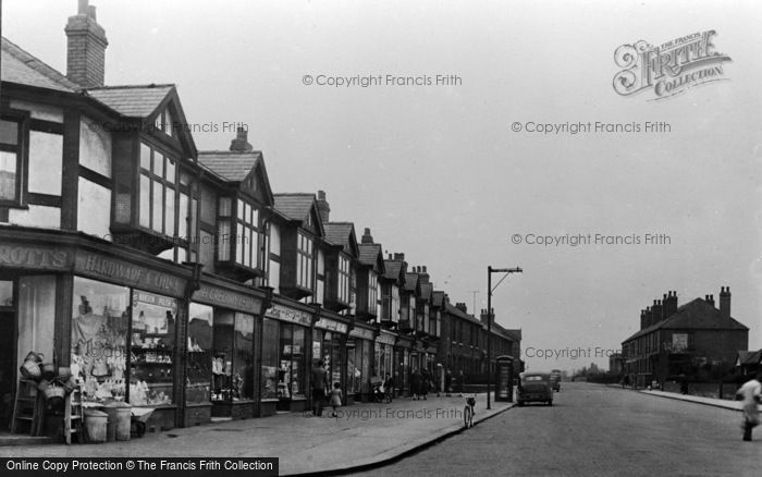 Photo of Thurnscoe, Houghton Road c.1955