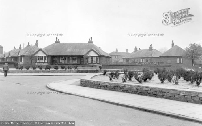 Photo of Thurnscoe, Low Grange Road c.1955