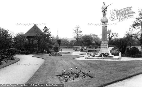 Photo of Thurnscoe, The Park c.1955