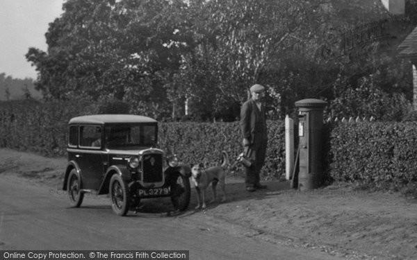 Photo of Thursley, Austin 7 Car 1932