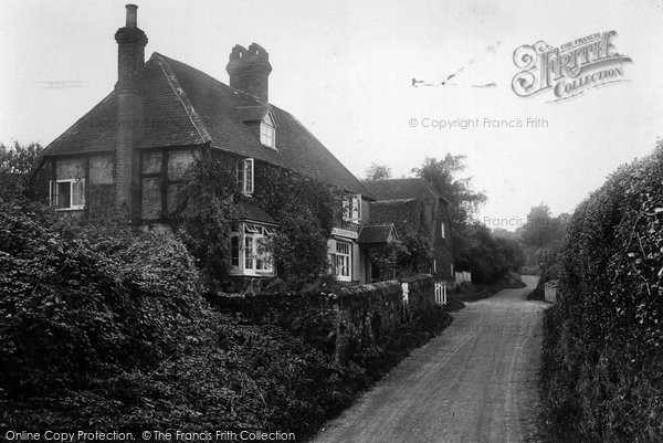 Photo of Thursley, Bowlers Green Post Office 1923