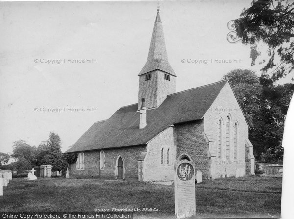 Photo of Thursley, Church Of St Michael And All Angels 1902