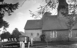 Thursley, Church Of St Michael And All Angels 1932