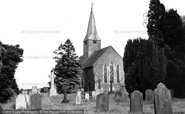 Photo of Thursley, Church Of St Michael And All Angels c.1955