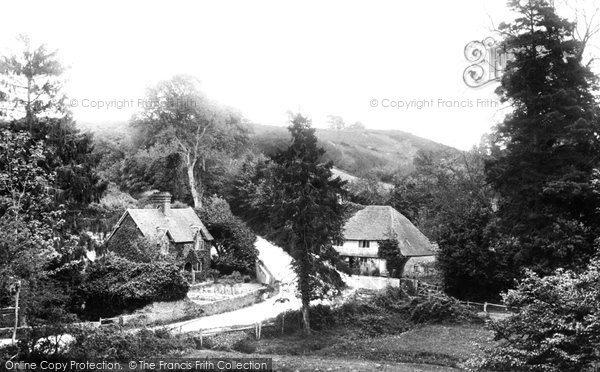 Photo of Thursley, Dye House Hill 1908