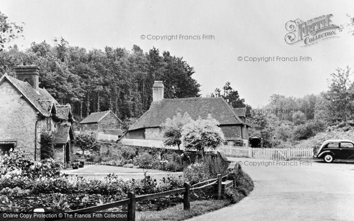 Photo of Thursley, Dye House Mill c.1955