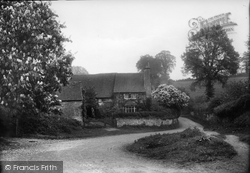 Thursley, Old Cottage 1907