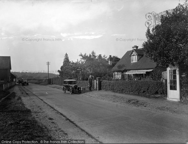 Photo of Thursley, Post Office 1932