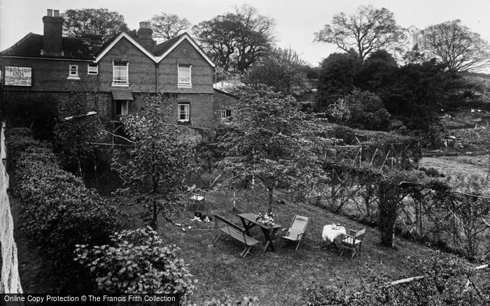 Photo of Thursley, Red Lion Inn, The Garden From The South 1927