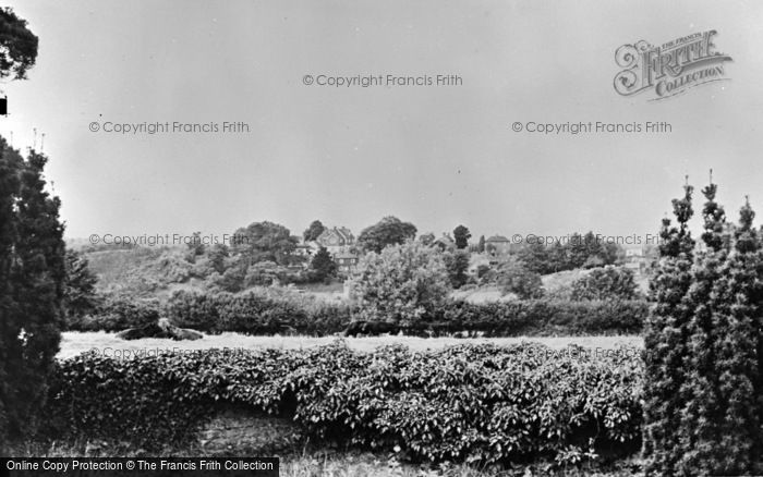 Photo of Thursley, The Common From The Church c.1955