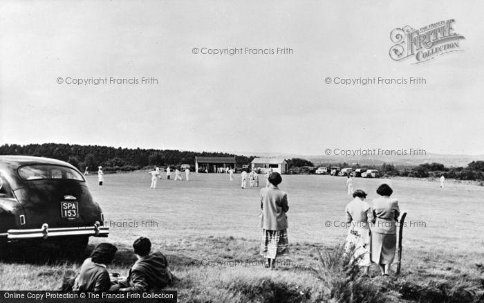 Photo of Thursley, The Cricket Green c.1955