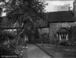 Thursley, The Old Parsonage 1925