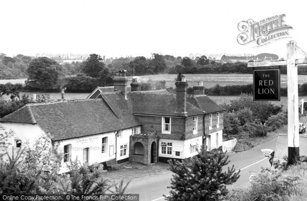 Photo of Thursley, The Red Lion c.1955