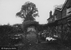 Thursley, The Red Lion Inn Gardens 1927