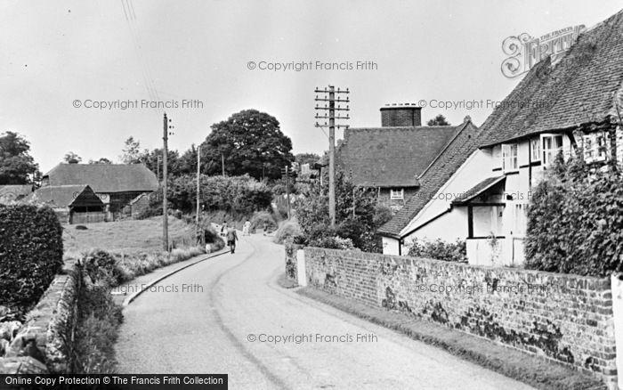 Photo of Thursley, The Street c.1955