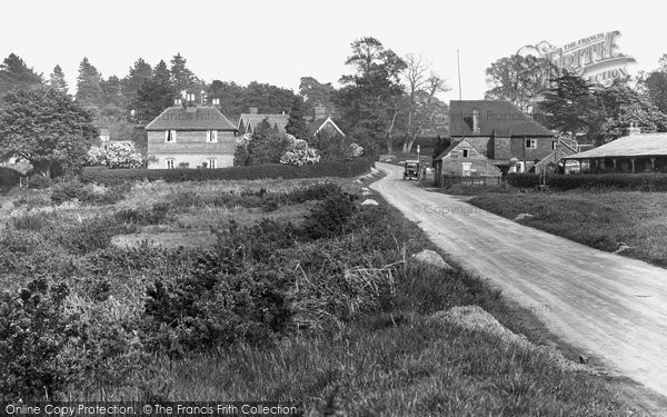 Photo of Thursley, The Village 1925