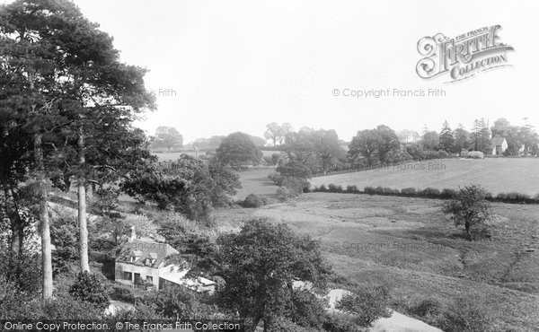 Photo of Thursley, Village 1908