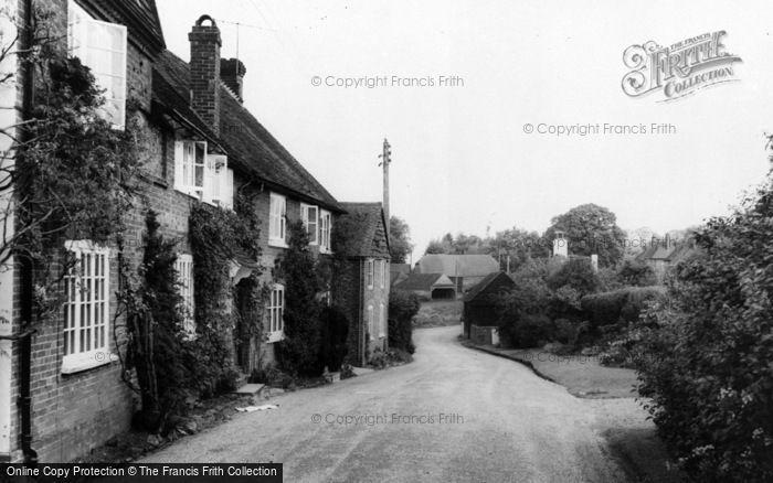 Photo of Thursley, Village c.1955