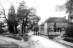 Thursley, Village Post Office 1907