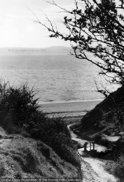 Photo of Thurstaston, Beach Path c1955