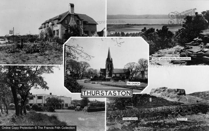 Photo of Thurstaston, Composite c.1955