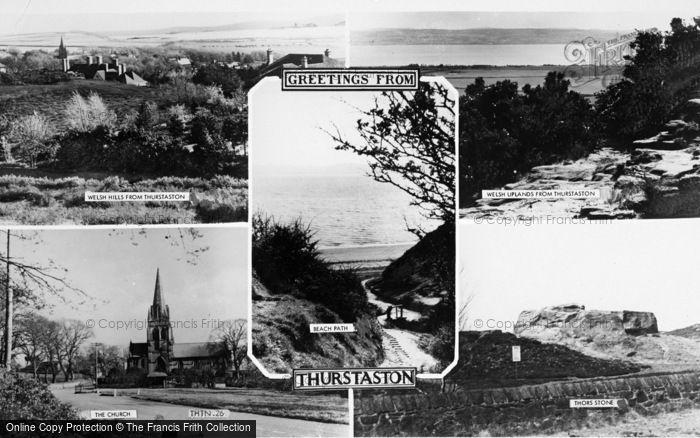 Photo of Thurstaston, Composite c.1960