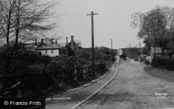 Thurstaston, School Lane c.1955