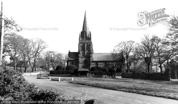 Photo of Thurstaston, St Bartholomew's Church c1955