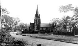 Thurstaston, St Bartholomew's Church c.1955