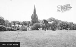 Thurstaston, St Bartholomew's Church c.1957