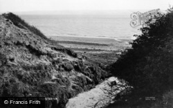 Thurstaston, The Beach c.1955