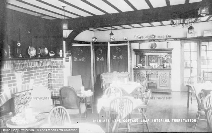 Photo of Thurstaston, The Cottage Loaf, Interior c.1960