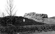 Thurstaston, Thor's Stone c1955
