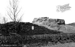 Thurstaston, Thor's Stone c.1955