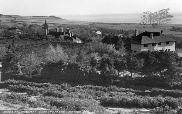 Photo of Thurstaston, View Of The Welsh Hills c.1955