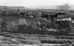 Thurstaston, View Of The Welsh Hills c.1955