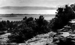 Thurstaston, View Of The Welsh Uplands c.1955