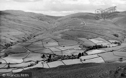 Thwaite, Village And Buttertubs Pass c.1960